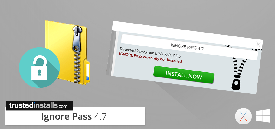 Ignore Pass 4 7 –  rar/ zip/ 7z Password Remover – Trusted Installs